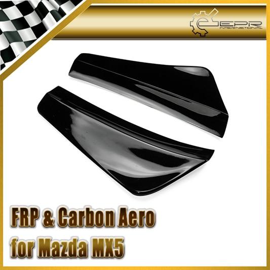 EPR Car Styling For Mazda MX5 Miata NB FRP Fiber Glass Rear Bumper Spat Canard Fiberglass Bumper Corner Accessories Racing Trim