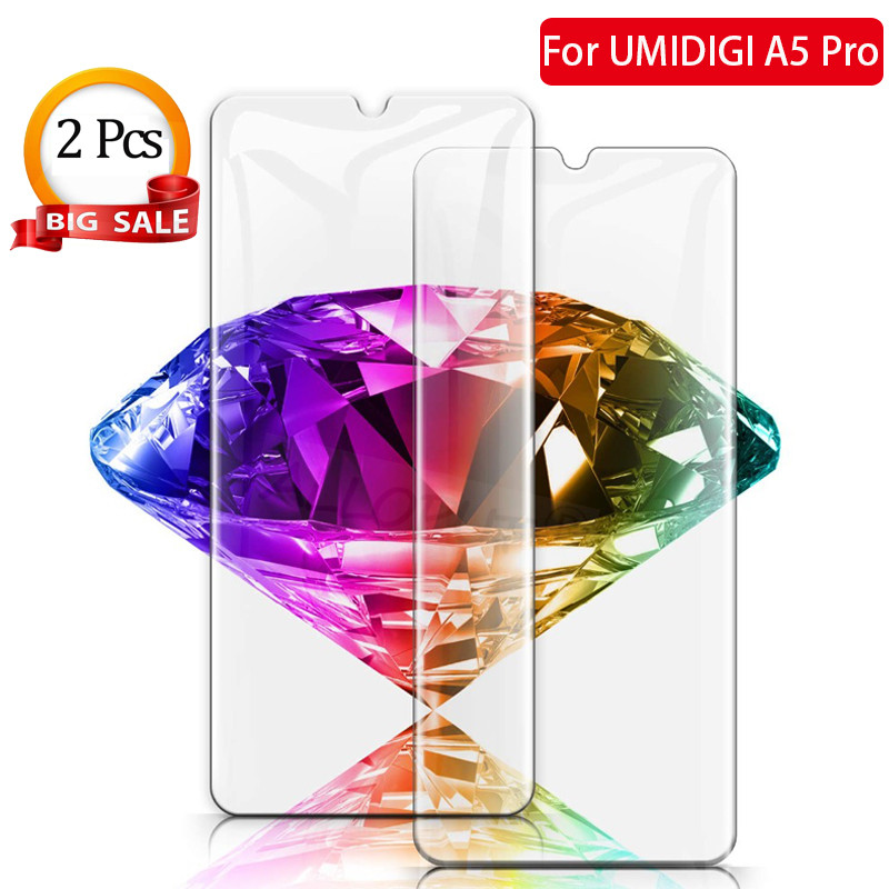 Image 1 - 2019 Umidigi A5 Pro Phone Protective Tempered Glass For UMIDIGI A5 Pro Hot Sale Screen Protector For UMIDIGI A5 Pro Film Glass-in Phone Screen Protectors from Cellphones & Telecommunications