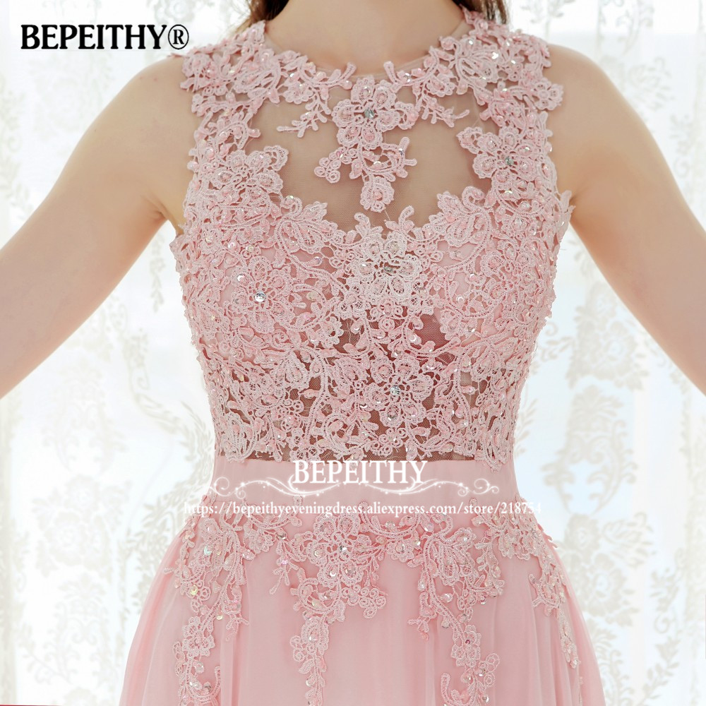 Novi Dolazak Čipka Top Long Prom haljina Vestido De Festa Longo - Haljina za posebne prigode - Foto 3