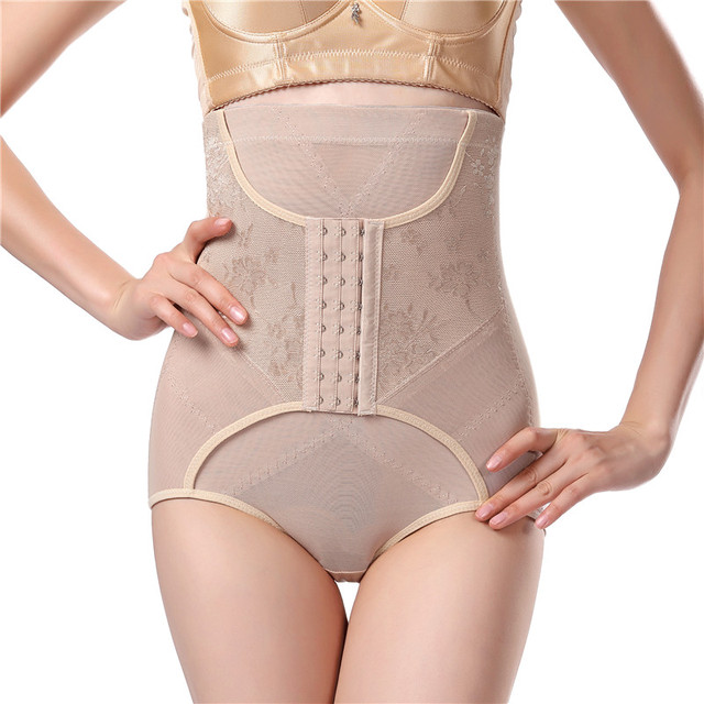 78d0c6ac99 Slimming Belt Waist Trainer Modeling Strap Corset Slimming Underwear Body  Shaper Shapewear Slimming Briefs Butt Lifter Ass panty