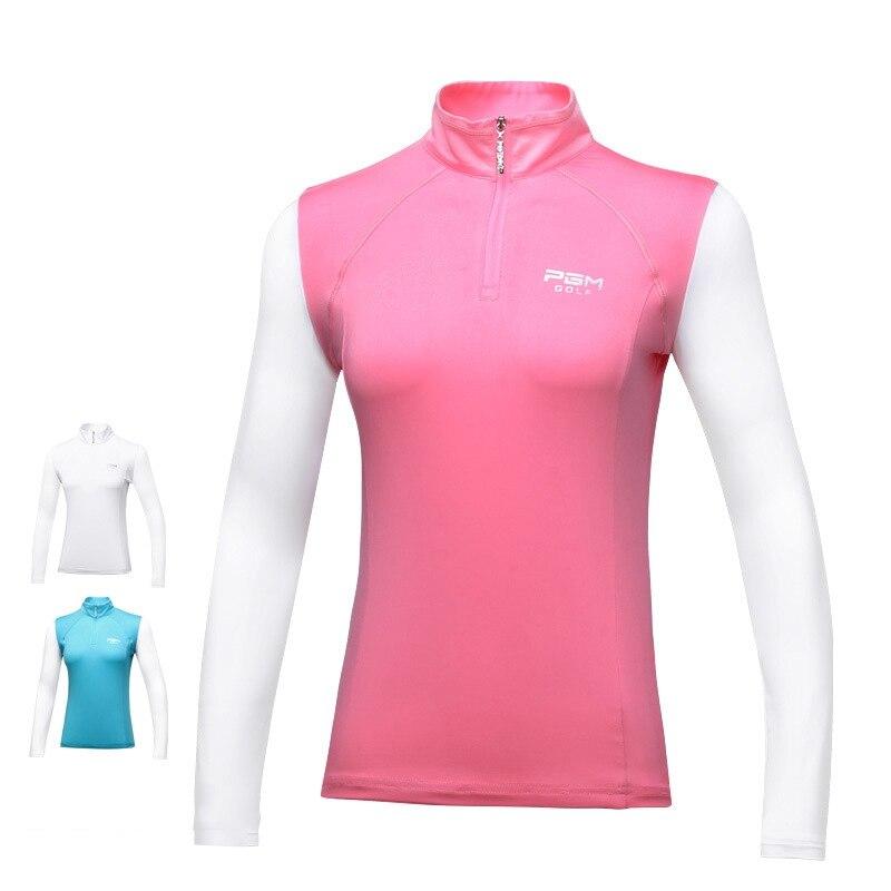 2019 heißer Golf Shirts Frauen PGM Fitness Frauen Shirts Mode Lange-sleeve Frauen Hemd Outdoor Golf Kleidung Sportswear T-shirt