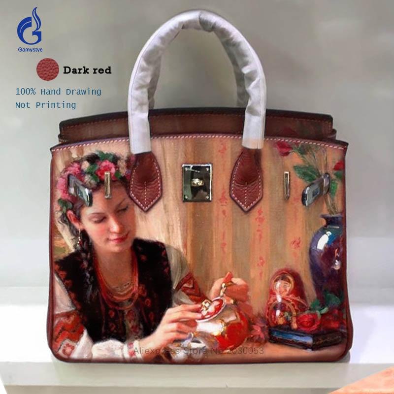 Hot Sales Women Handbags Female handbags high quality Genuine Leather bolsos mujer de marca famosa personalizar bolso Party