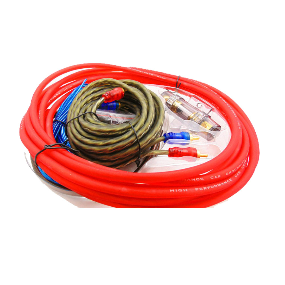 AMP Wiring Fuse Holder Wire Cable Kit 8GA Car Audio font b Subwoofer b font font