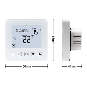Image 4 - منظم حراري ذكي واي فاي لاسلكي متحكم في درجة الحرارة APP الضوابط 16A التدفئة الكهربائية الكلمة لغرفة دافئة منظم الحرارة