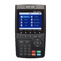 Оригинальный Satlink WS 6916 спутниковый искатель DVB S2 MPEG 2/MPEG 4 Satlink ws 6916 Высокое разрешение Спутниковое метр TFT ЖК дисплей Экран