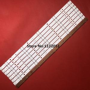 Image 1 - LED شريط إضاءة خلفي 5 مصباح ل LG Innotek 49 بوصة التلفزيون باناسونيك TX 49DS500B TX 49DS500E TZLP151KHAB6 TZLP151KHAB1 TX 49DS500B