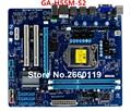 Madre de escritorio para gigabyte ga-h55m-s2 ddr3 placa base del sistema lga1156 probado y funciona bien