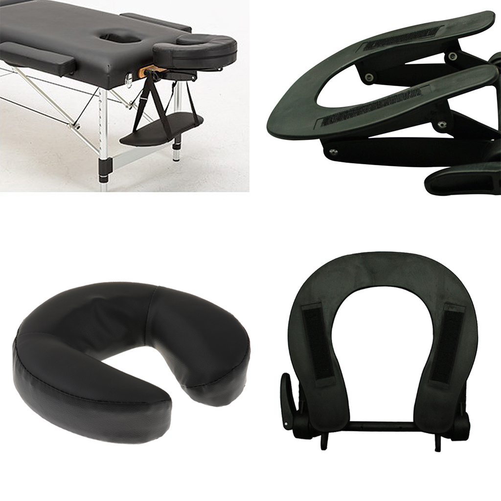 Comfort Adjustable Face Cradle for Massage Table with Standard Cushion Pillow Spa Bed
