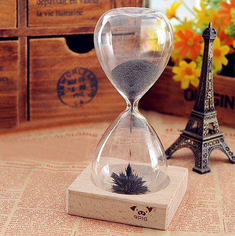 Magnetic Hourglass Diy Romantic Birthday Gift Ideas To Send His Girlfriend Boyfriend Girls Especially Hourglass Gift Best Gift Photoidea Sticker Aliexpress
