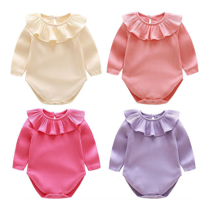 Baby Girls Rompers Autumn Cotton tutu Clothing Full Colorful Kids Overalls Infant Jumpsuits Toddler Costume Newborn Boys Clothes
