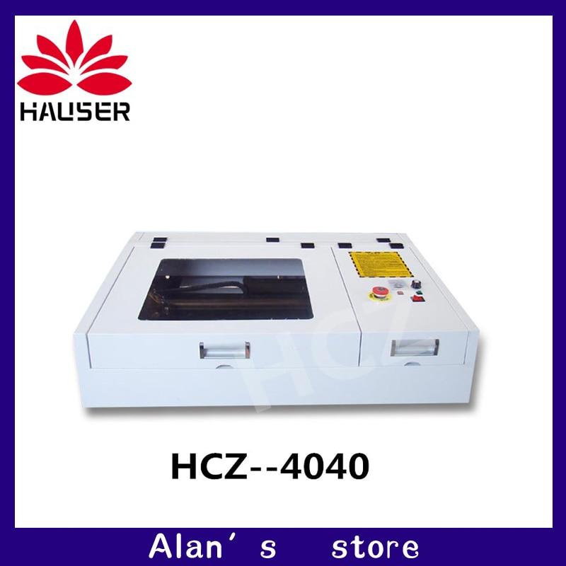 50 Вт CO2 лазерная гравировка машины 4040 лазерной резки 40*40 см формат работы лазерная маркировочная машина diycnc гравировальный станок