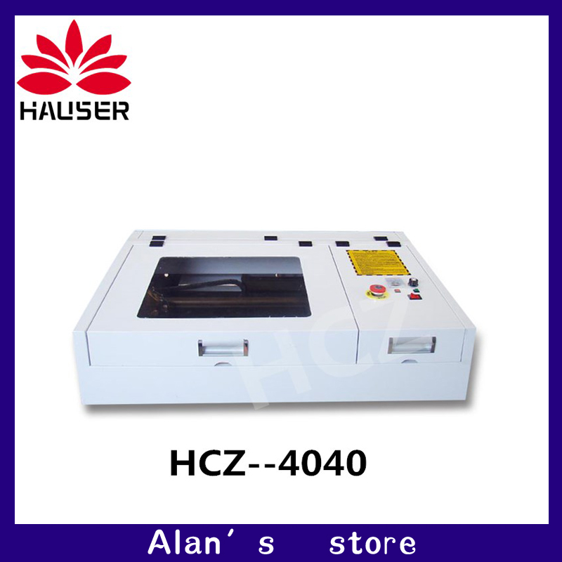 50 w CO2 Laser macchina per incisione macchina di taglio laser 4040 40*40 cm formato di lavoro macchina per marcatura laser diycnc macchina per incisione