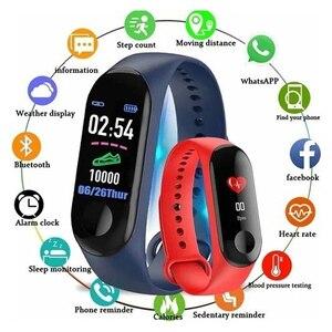 Image 2 - 防水スポーツスマート健康ブレスレット睡眠フィットネス活動トラッカー心拍数モニタースマートリストバンドカラー液晶画面の腕時計