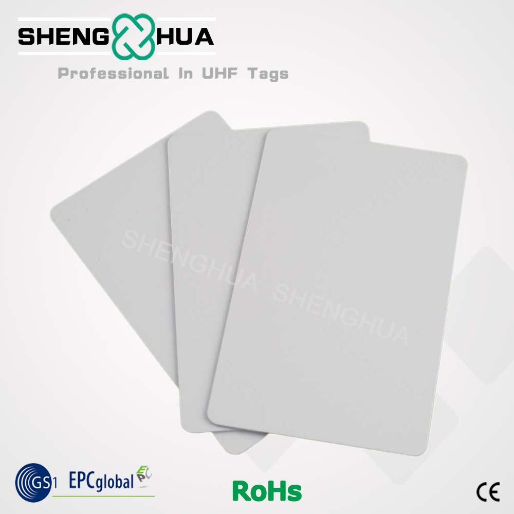 200pcs/box Cheap Low Cost Rfid Pvc Card Blank Passive Uhf Rfid Smart Card For Rfid Card Reader Access Control Tracking