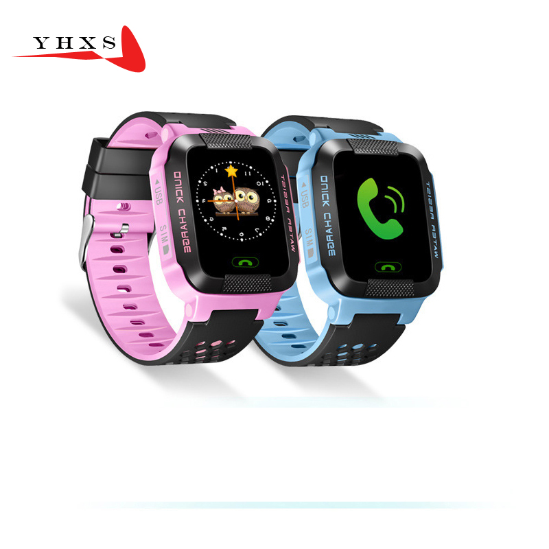 1 44 Touch Screen Smart Safe Accurate Tracker Location SOS Call Remote Monitor Flashlight Watch Wristwatch