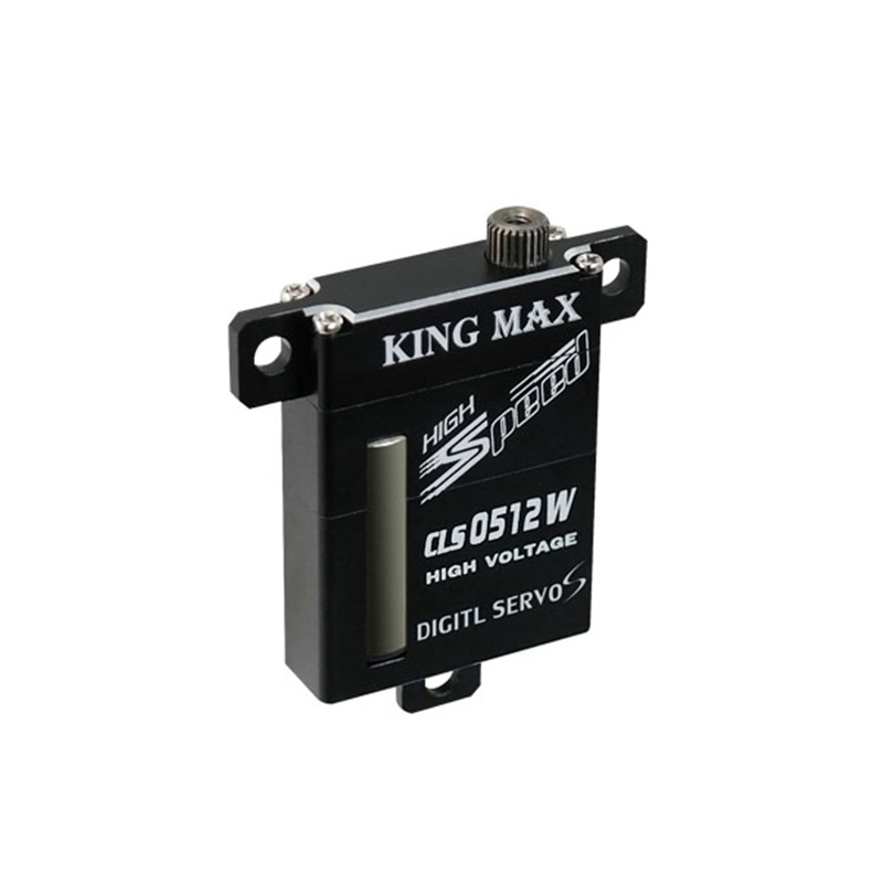 FATJAY KINGMAX CLS0512W 21g 6 0kg cm digital metal gear wing servo 8mm thin full CNC