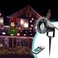 8 Padrões Laser Paisagem Jardim Luz À Prova D' Água À Prova D' Água Ao Ar Livre Projetor de Iluminação Decorativa Lâmpada RF Controle Remoto