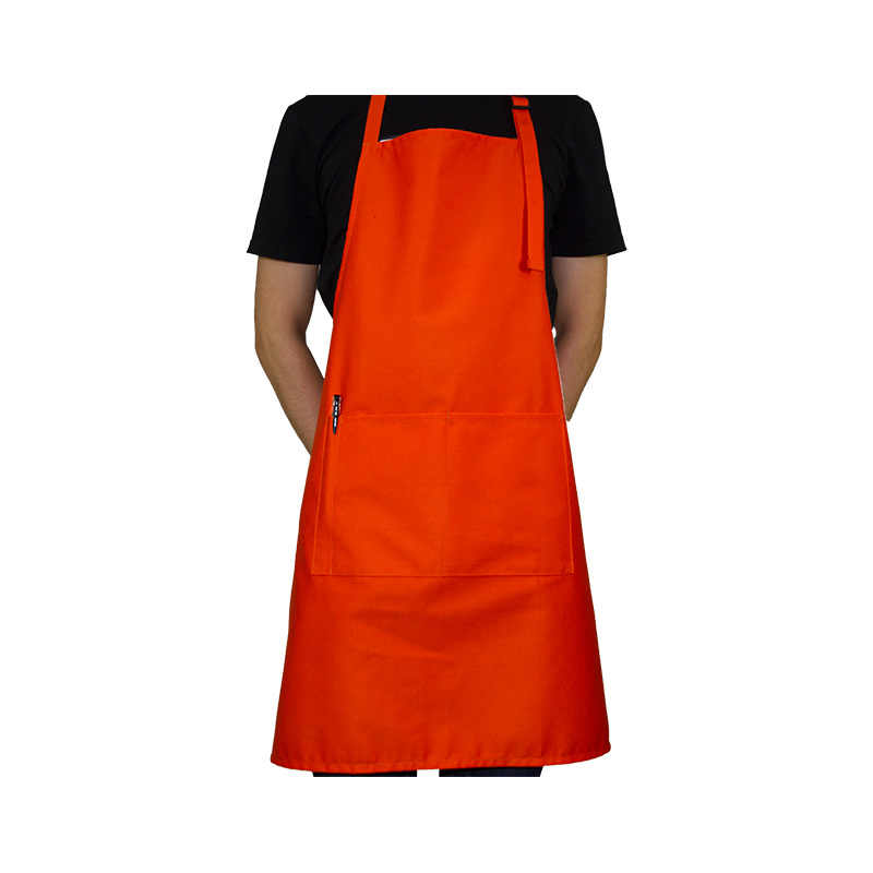 2019 Korean Aprons For Woman Waitressing Apron Personalized Aprons Adjustable Neck With 2 Pockets 10 Color Long Apron