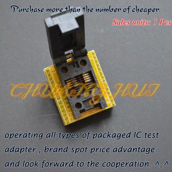 150mil SOP8 do DIP8 programista adapter FP8 SOP8 SOIC8 gniazdo testowe skok = 1 27mm szerokość = 3 9mm 6 0mm tanie i dobre opinie FSHH Innych