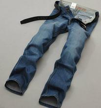 2015 New Высокого Хорошее Качество Бренда Джинсы для Мужчин Горячей Продажи Прямые Регулярные джинсы Бесплатная Доставка