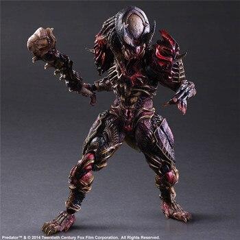 Play Arts-figura de acción depredadora Alien vs. Predator, modelo de juguete, 28cm