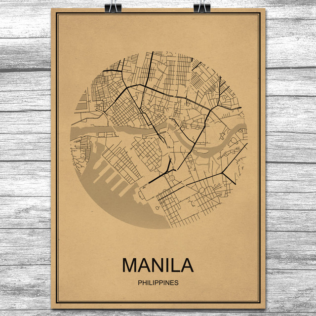 Hot sale manila kraft paper world city map vintage retro poster wall hot sale manila kraft paper world city map vintage retro poster wall art sticker antique painting gumiabroncs Images