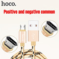 ORIGINAL HOCO U6 Positive and negative double-sided mirco data charging nylon cable 1.2m for Samsung huawei xiaomi free shipping