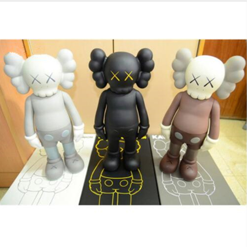16 Inch Prototype Kaws Originalfake Dissected Companion VOGUE Art Toys Action Figure Collectible Model Toy DE81 originalfake kaws 4ft kaws dissected 1 1 kaws toys for home decoration factory sample