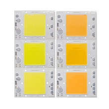 10PCS/LOT LED COB Chip Lamp 30W 40W 50W 220V 110V IP65 Smart IC light beads Fit For DIY Floodlight White WarmWhite 10pcs lot led cob chip 20w 30w 50w white warmwhite golden ac220v with smart ic light beads for diy floodlight outdoor lamp