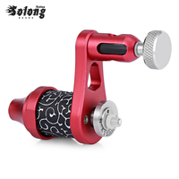 Solong Tattoo Alluminum Alloy Electric Tattoo Guns Rotary Machine Shader Liner Motor Kit Supply For Artists Wire Cutting Machine