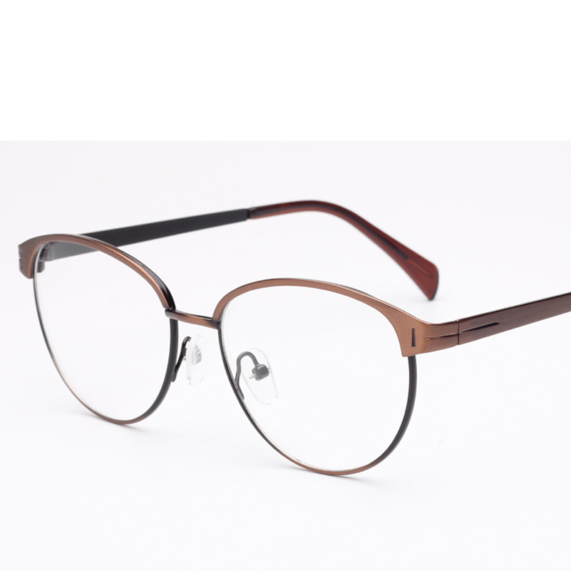 New Fashion Eyeglasses Frame Women 2016 New Fashion Glasses Female Metal Optical Frame Vintage