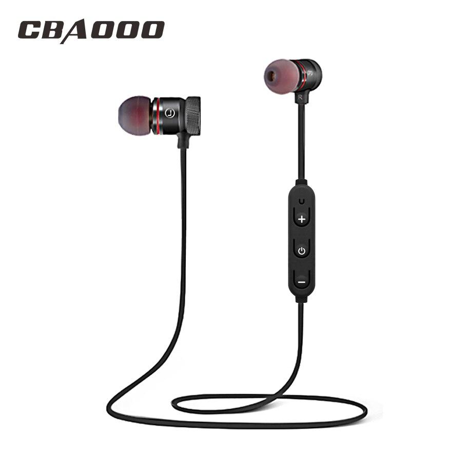 Bluetooth Kopfhörer Drahtlose kopfhörer Bluetooth Headset SweatProof Magnetische Sport Stereo Ohrhörer für Handy