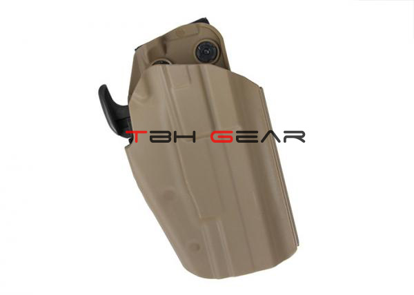 Standard 579 Belt Clip Holster G17/18C/20/21/22/37 H&K,S&W,SIG P226,Taurus PT24,92F Coyote Brown+Free shipping(SKU12050860)