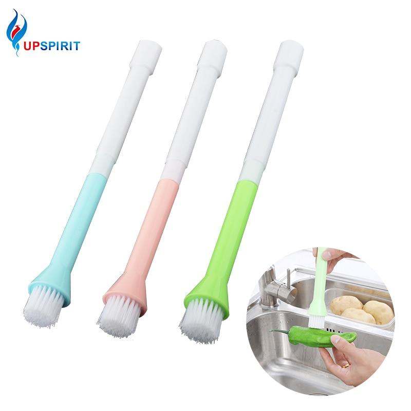 Upspirit Multifunctional Kitchen Sink Cleaning Brush Plastic Fruit Vegetable Brush Pan Pot Dish Washing Household Cleaning Tools
