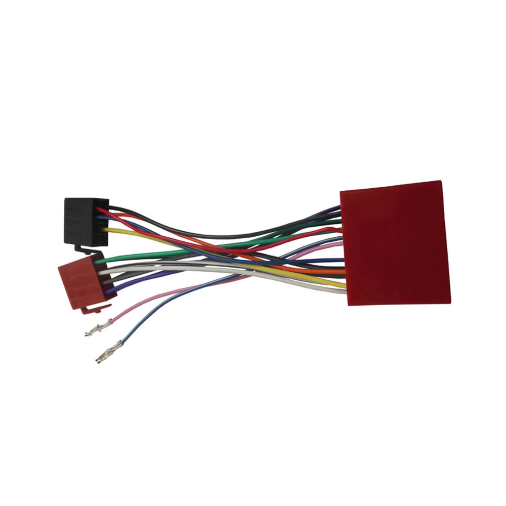 for Mazda 2001+ ISO Wiring Harness Adaptor Stereo Wire Cable Aftermarket Car ISO Radio Plug Adapter Connector