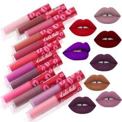 KADALADO Brand Make Up Waterproof Nude Lipstick Long Lasting Liquid Matte Lipstick Kit Lip Gloss Cosmetics Lipgloss Lip Makeup