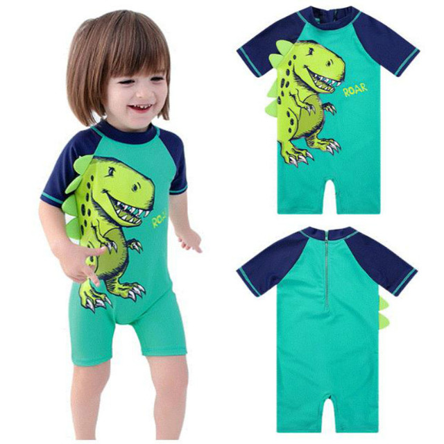 a256eb5873 High Quality Baby Boys Swimwear UV 50+ Sun Protection One Pieces Infant  Bathing Suit onesie