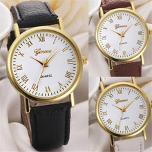 2017  women watches brand Fashion dress ladies Watches Leather women Analog Quartz Wrist Watch relojes mujer