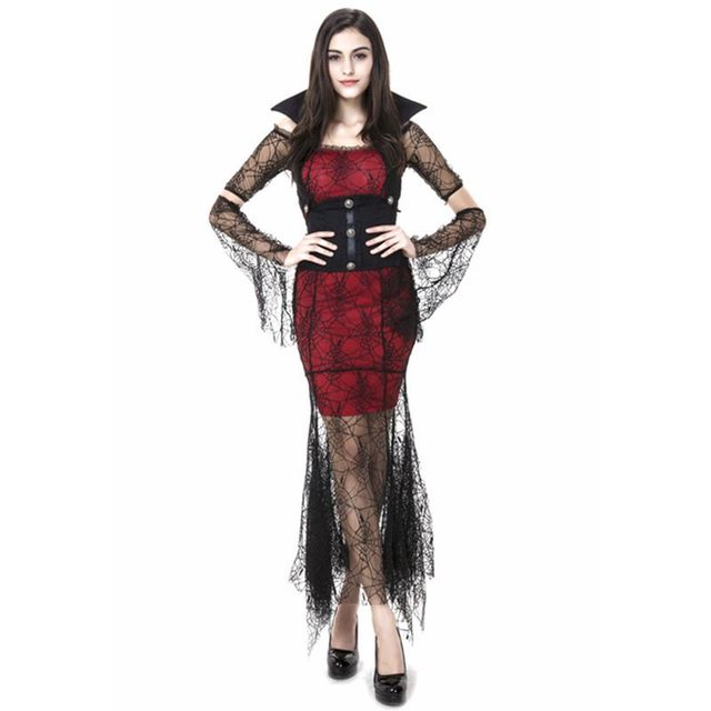 Aliexpress.com : Buy Lace Gothic vampire halloween costumes for ...
