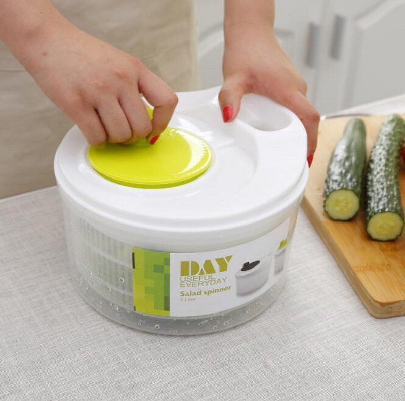 Vegetable dryer dehydrator household large capacity fruit dehydrator drainer salad Spinners image