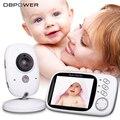 DBPOWER VB603 Mini Câmera de Segurança Monitor de Vídeo Do Bebê com 3.2 polegadas Tela 2.4G Sem Fio 2 Maneiras de Áudio Talk & Noite visão