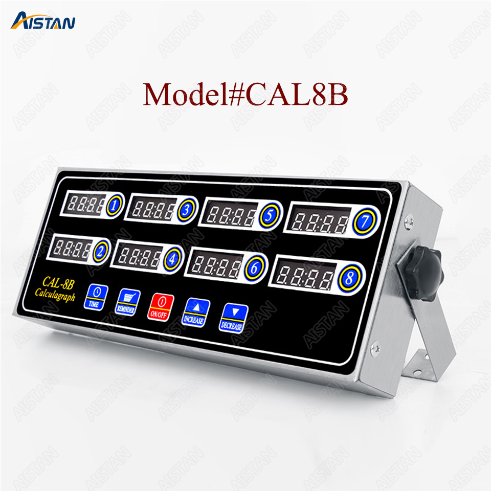 CAL8B/CAL12C portable calculagraph 8/12 channel multi-function digital timer LCD display shaking reminderCAL8B/CAL12C portable calculagraph 8/12 channel multi-function digital timer LCD display shaking reminder