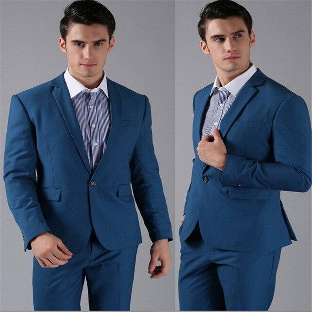 the latest 0f40e 910c2 US $110.0 |Modische herrenanzug maßgeschneiderte mode männer anzug (anzug  (coat + pants + tie) business kleidung einteiliges taste interview arbeit  in ...