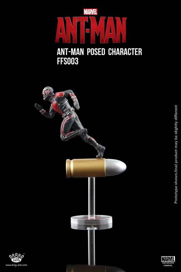 King Arts 6.5CM FIGURE ANT-MAN POSED CHARACTER FFS003 Moive Doll Kids Toys Gift Collection For 2015 New Year