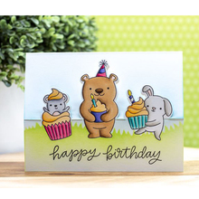 Birthday Animal Clear Silicone Stamp DIY Scrapbooking Card Album Making Background Craft Handmade Decoration Template lovely unicorn clear silicone stamp diy scrapbooking card album making background craft handmade decoration template
