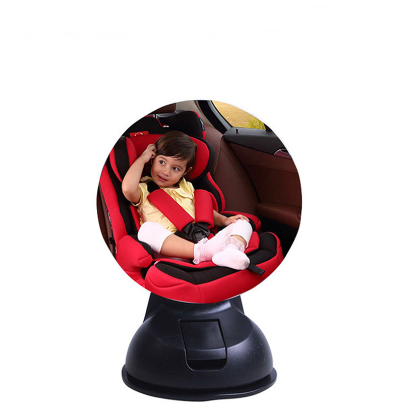 Car Children Baby Back Seat Mirror Rear View Adjustable Safety Sucker high quality car accessories rearview mirror