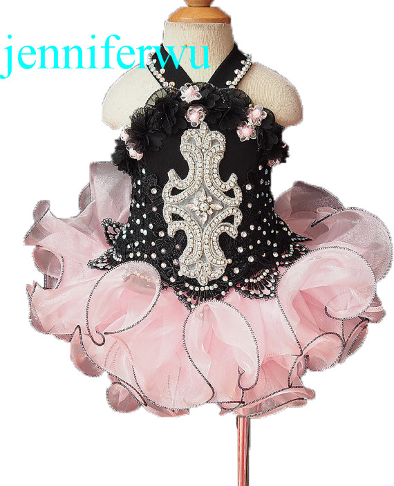 цена girl baby dresses  toddler and infant pageant dress girl clothes  prom dresses 1T-6T G020-2 онлайн в 2017 году