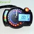 Новое Поступление Подсветка ЖК-Цифровой Мотоцикла Спидометр Одометр Мотоцикл Тахометр M16 автомобиль для укладки