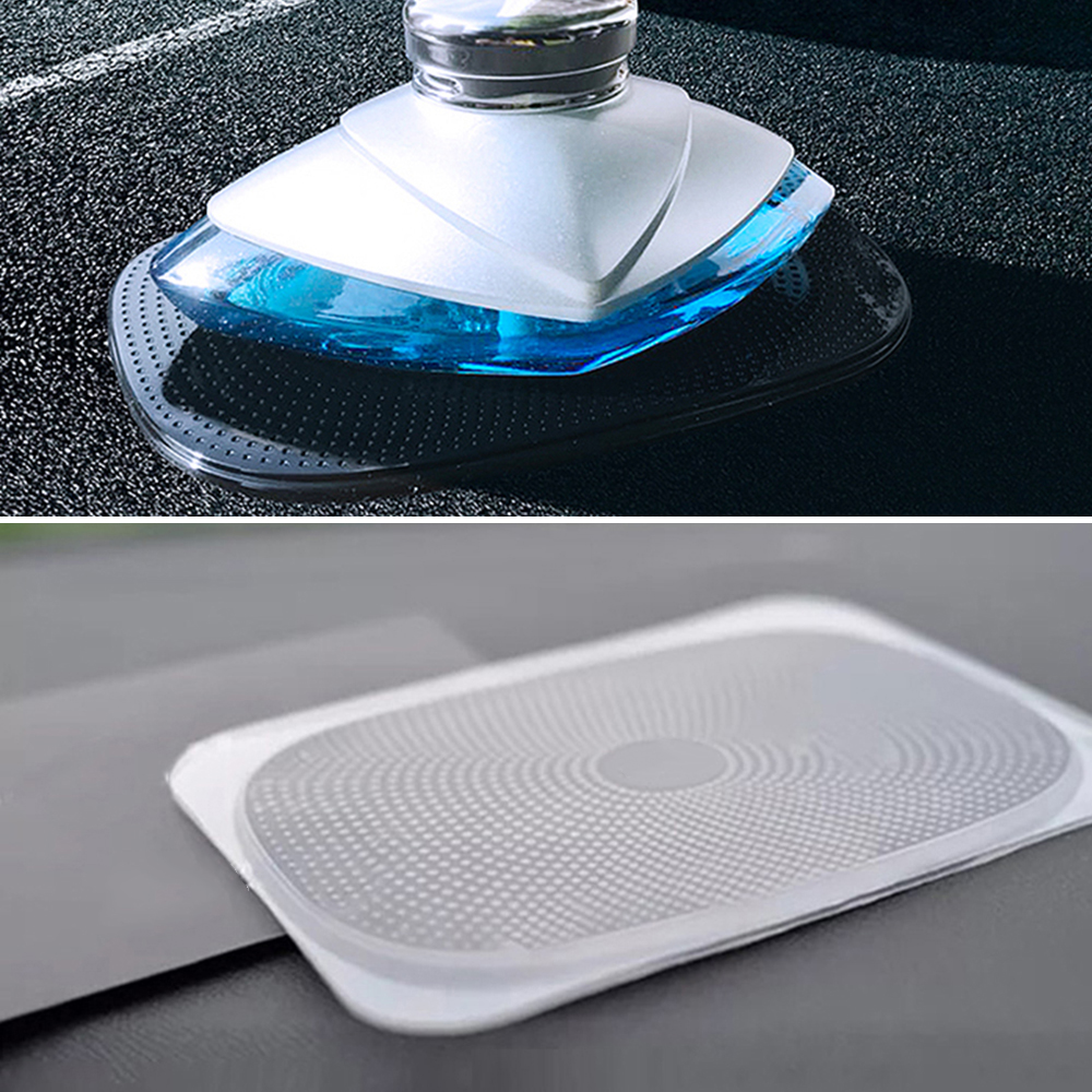 Image 5 - Car Anti Slip Mat Phone Holder 15*10.5cm PU Automobiles Interior Dashboard Sticky Pad  Non Slip Cushion For GPS Cell Phone Coin-in Anti-Slip Mat from Automobiles & Motorcycles