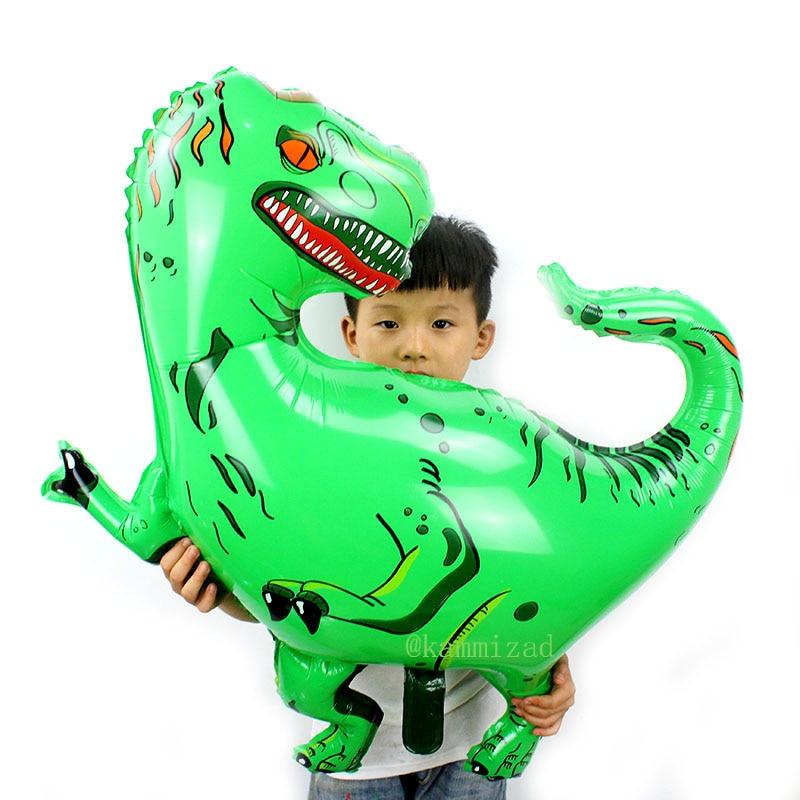 large Tyrannosaurus Rex dinosaur party balloons birthday party decorations kids unicorn party balloons inflatable helium globos